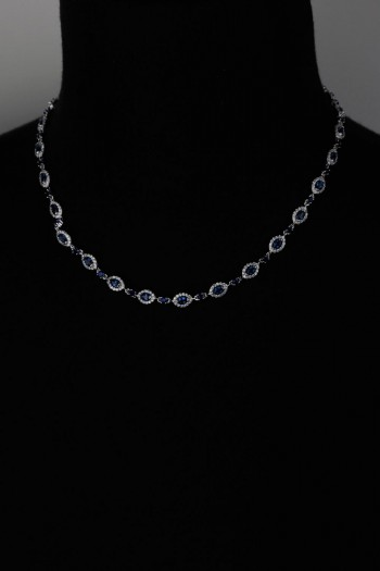 Traditional CZ Necklace