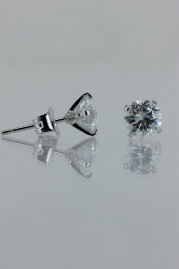 swarovski cz earrings