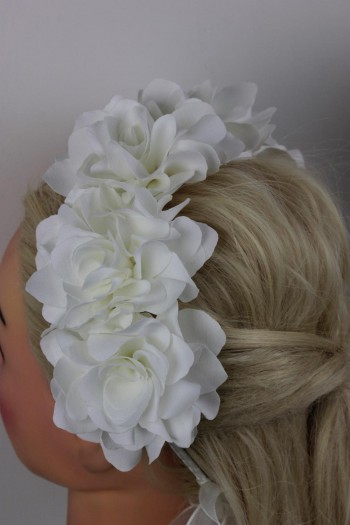 Bridal Flower Headband