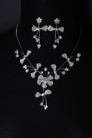 10007-6 Lovely prom girl necklace set