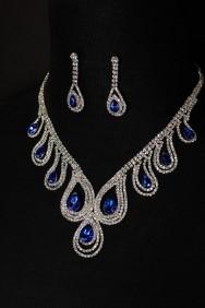 10415-6 Peakcock necklace set