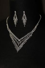 10354-6 Rain necklace set