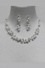 11529 Pearl Wedding Neckalce