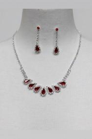 13071-2 Ladylike Rhinestone Necklace