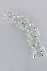 63757-1 Tiara Hair Accessory For Wedding