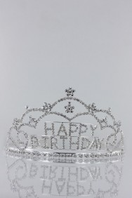 64108-1 Large Happy Birthday Tiara