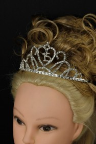 64143-1 15th birthday tiara - medium size