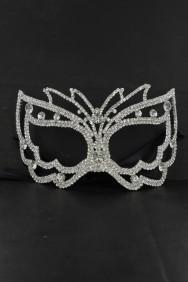 64164-1 Rhinestone mask