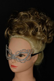 64224 Simple rhinestone mask