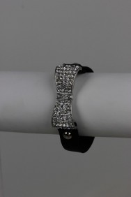 81893 Fashion ribbon bracelet with buckle