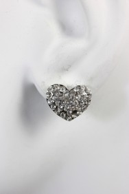 8290-1 heart stud earring
