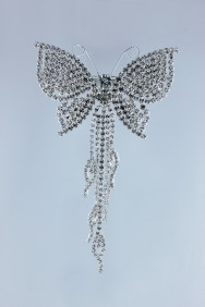 9050-1 butterfly hair barrette