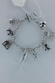 B90006 Lucy charm baseball togger bracelet