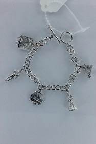 B90007 Lucy charm human togger bracelet