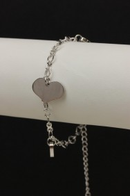 B90011 Three heart bracelet