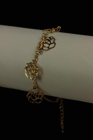 B90018 Limited rose dangling bracelet - CGO