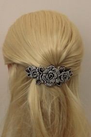 BA112 Limited Lux Ribbon Large Barrette