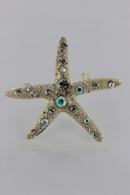 BA114 Small Starfish Barrette