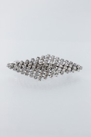BA57 Diamond rhinestone hair barrette