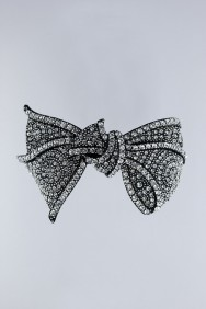 BA70 3D ribbon france hair barrette