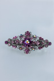 BA79 Small Victorian style hair barrette jewelry