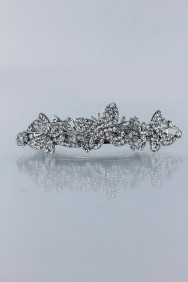 BA91 Medium butterfly hair barrette