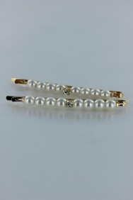 BB28 Large pearl bobby pin