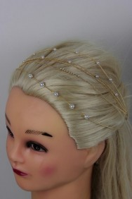 BB41 Five Line Pearl Bobby Pin