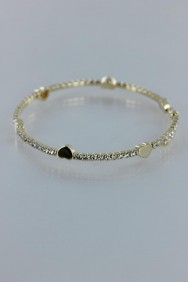 BLP16 Heart bracelet