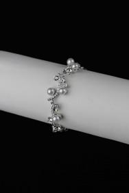 BLP18 Wavy with swarvoski stone bracelet