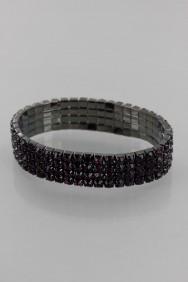BR009004 Limtied Four Line Elastic Bracelet