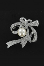 BR4-PEARL BROOCHES JEWELRY