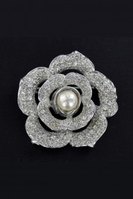 BR61-COCKTAIL PARTY JEWELRY BROOCHE
