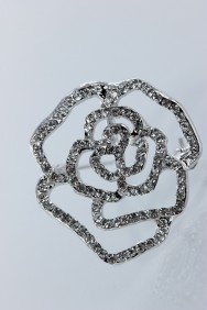BR69 Rose brooch for wedding event