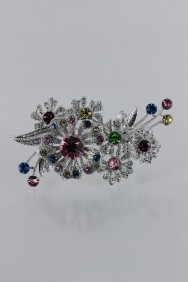 BR87 Sharon rose brooch