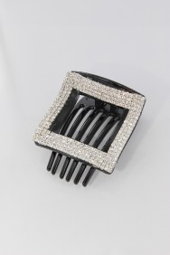 C180 Line square side hair clip