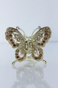 C194 Elegance butterfly bridal hair clip