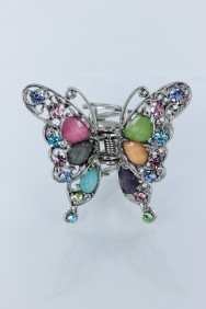 C195 Elegance acrylic butterfly clip