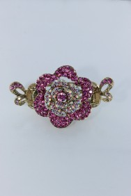 C200 Rose bridal hair clip jewelry