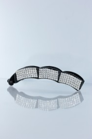 C206 Cube wave banana hair clip jewelry