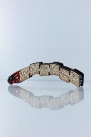 C207 Cube hair banana clip jewelry for any occation