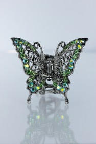 C209 Tradtional butterfly hair clip jewelry