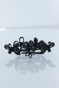 C220 3D butterfly flower double side hair clip jewelry