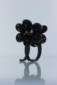 C223 3 legs flower botique hair clip jewelry