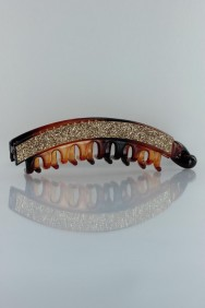 C240 Large glitter tooth hair clip
