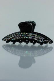 C244 Crescent acrylic hair clip