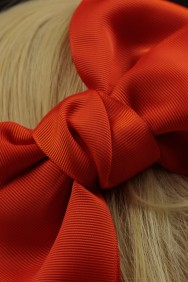 C781 Grosgrain Kid Small Bow Clip