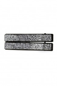 CJ18 Square glitter hair jaw clip