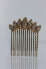 CMS108 Crescent side hair comb