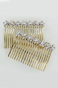 CMS11 7-flowers prom side comb